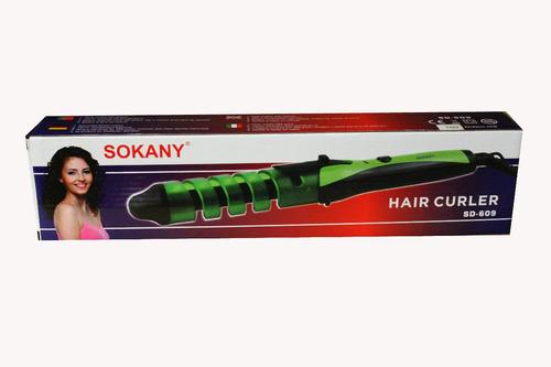 pinza rizador ondulador en espiral hair curler professional