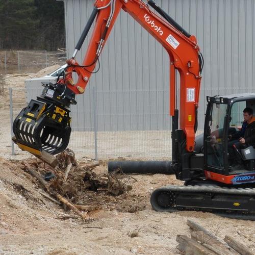 pínza seleccionadora mb para excavadoras
