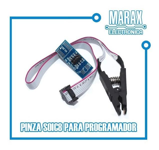 Pinza Soic8 Pinza Smd Para Programador Memorias Spi Bios