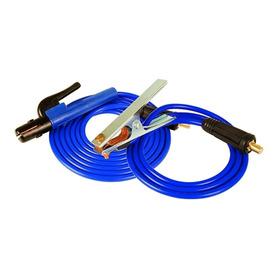 Pinzas, Bornes, Cable Soldadora 2.0 Mts Repuesto 200 Amp