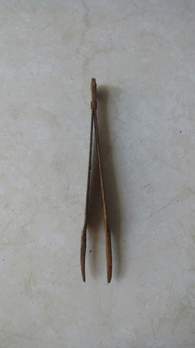 pinzas de precisión antiguas de relojero mini tenazas
