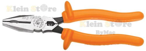 pinzas d/electri c/poncha 8'' aislada 12098-ins klein tools
