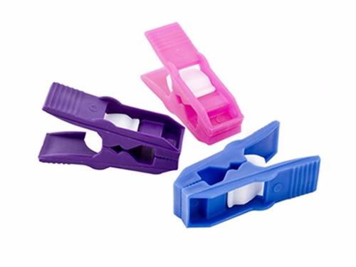 pinzas o ganchos de ropa 12 piezas de plástico