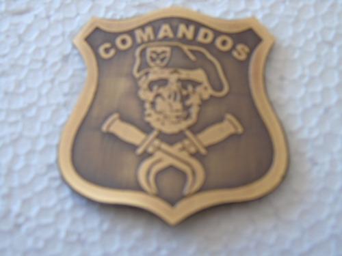 piocha, insignia metálica comandos ejército de chile