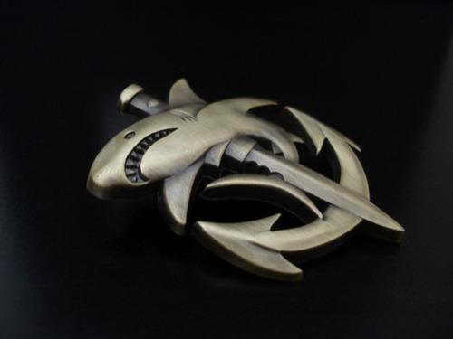 piocha militar buzo tiburon ancla