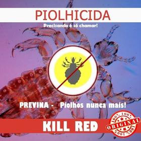 Piolhicida Kill Red 50 Gramas Original