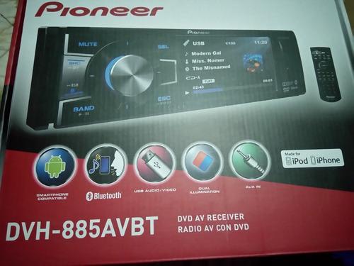 pioneer auto estereo dvh-885avbt dvd player