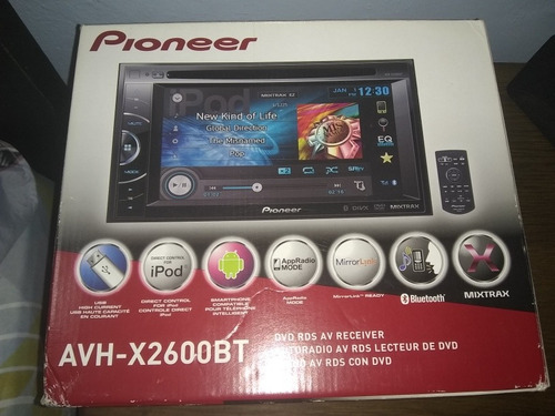 pioneer avh x2600bt