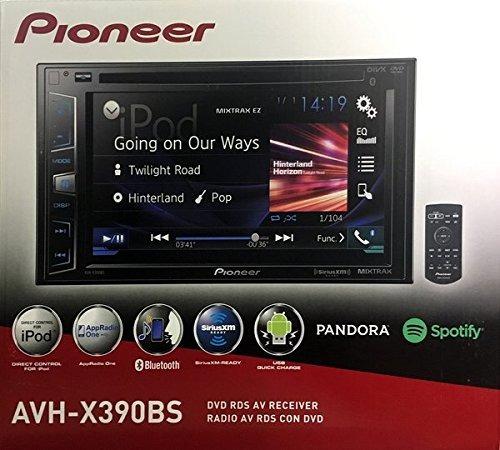 pioneer avh-x390bs doble din con bluetooth en el tablero de