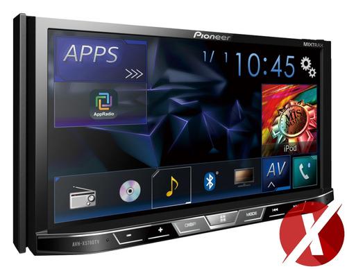 pioneer avh-x5780tv + moldura vw g6 + interface volante