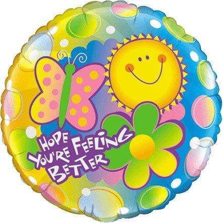 Pioneer Balloon Company Espero Que Te Sientas Mejor Globo 18