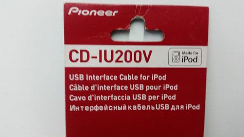 pioneer cd-iu200v  nuevos