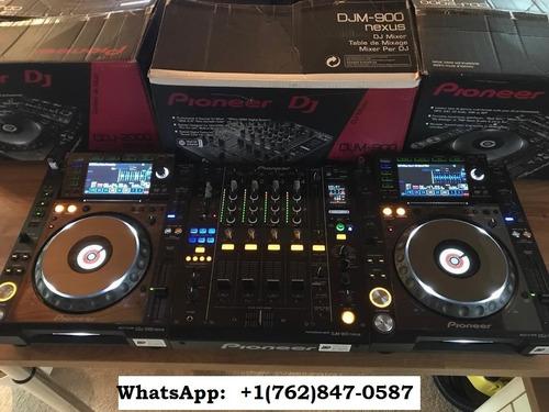 pioneer cdj 2000 nexus + djm 900 nexus - fully boxed - mint