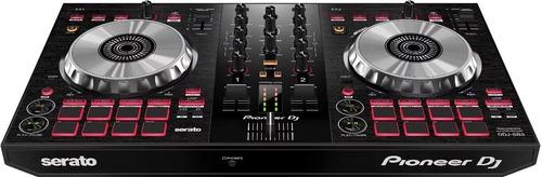 pioneer ddj sb3 controlador de dj de 2 canales para serato