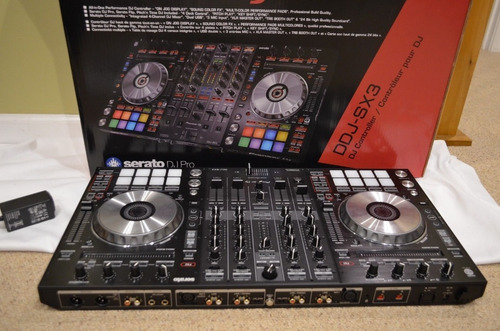 pioneer ddj-sx3 4-channel dj controller