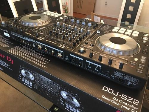 pioneer ddj-sz2 4-channel dj controller