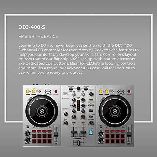 pioneer dj ddj-400-s controlador de 2 can - importardemiami