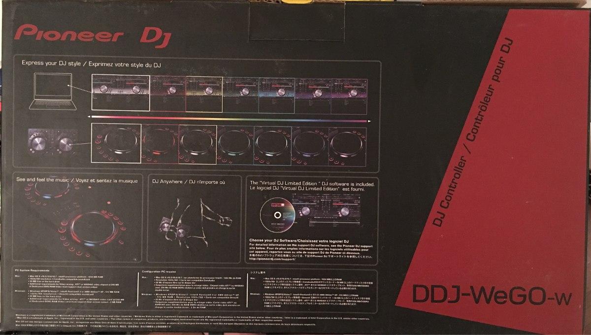 Pioneer Dj Ddj-wego-w/xe5