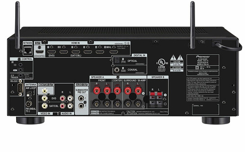 pioneer elite vsx-45 5.2 av receiver + 5 definitive speakers