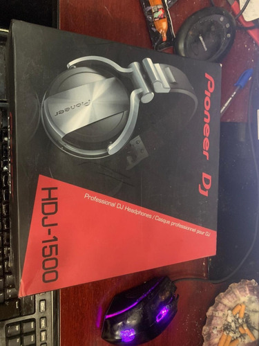 pioneer hdj-1500-s auriculares profesionales para dj  nuevo