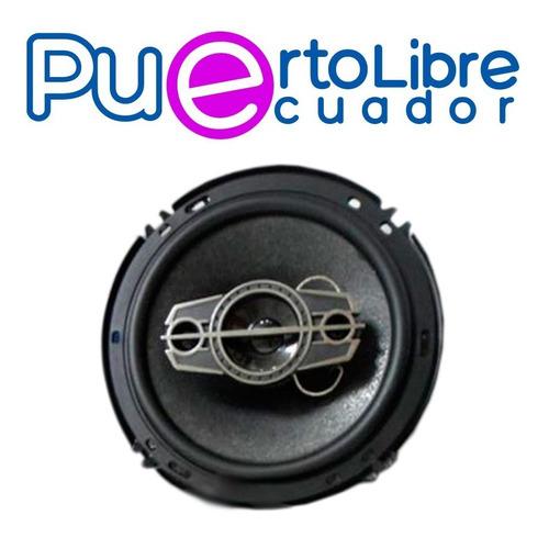 pioneer parlantes para auto - 350w - 4 vias - n u e v o s !!