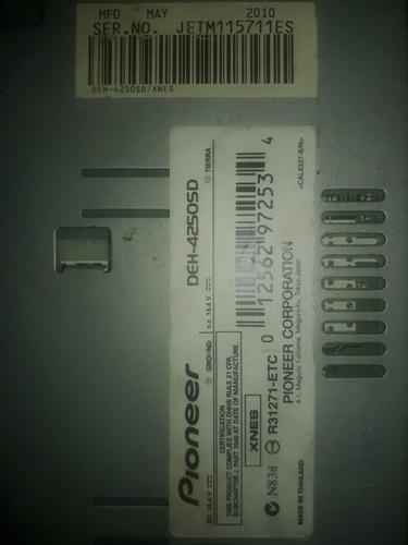 pioneer  pioneerdeh-4250sd