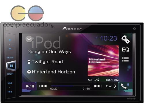 pioneer radio carro auto dvd pantalla led 6.2 usb bluetooth