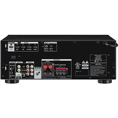 pioneer vsx-530-k 5.1 canales receptor av con dolby true hd