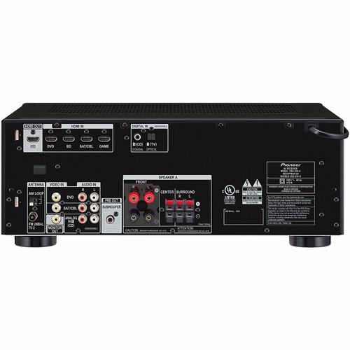 pioneer vsx-530-k 5.1 channel av receiver