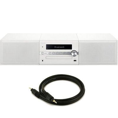 08a4363179326 Pioneer X-cm56w Minicadena Con Bluetooth Incorporado (blanco ...