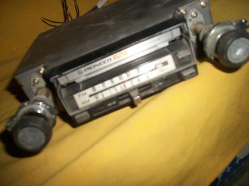 pionner - antigo rádio toca fitas - anos 70 - maverick