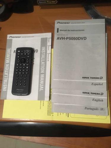 pionner avh- 5050 dvd cero detalles modl250vrds