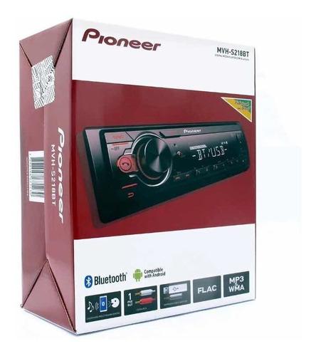pionner mvh-s218bt bluetooth