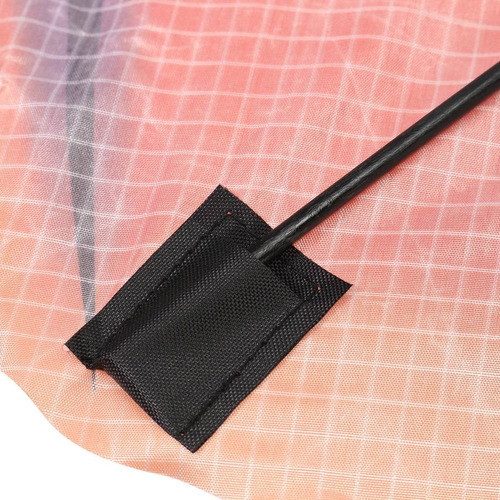 pipa 3d dragão chines - nylon - colorido - linha com calda