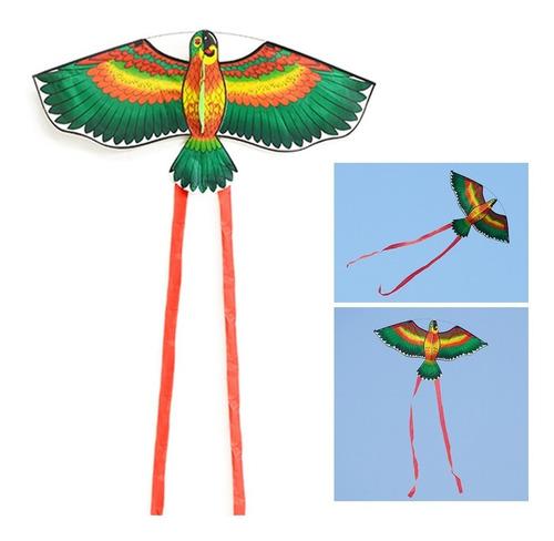 pipa 3d nylon ave arara vermelha durável à pronta entrega!