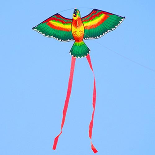 pipa ave papagaio em nylon - pássaro - envio imediato!