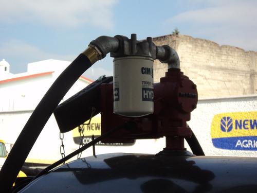 pipa con remolque para despachar diesel 500 galones