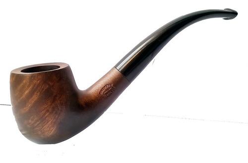 pipa curva bpk clásica checa madera brezo para fumar tabaco