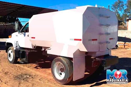 pipa de agua 1993, camion gmc topkick, tanque cisterna nuevo