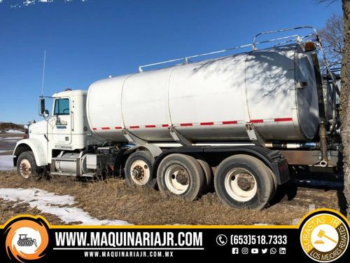 pipa de agua 1996 freightliner 4000 gal, camiones, camión
