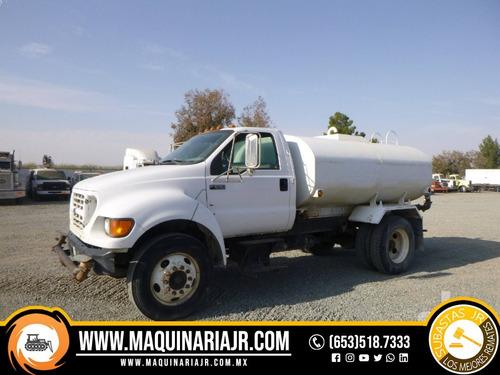 pipa de agua 2001 ford 2000 gal, camión, ford, pipa de agua
