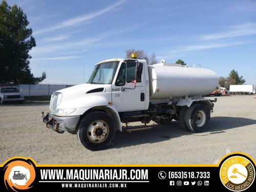 pipa de agua 2006 international 2000 gal, camión, camiones