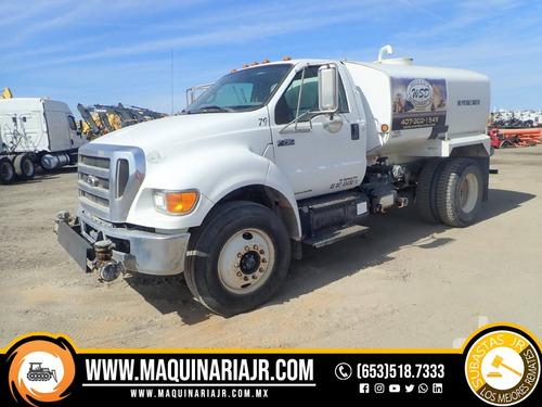 pipa de agua 2009 ford 2000 gal, camión, ford, pipa de agua