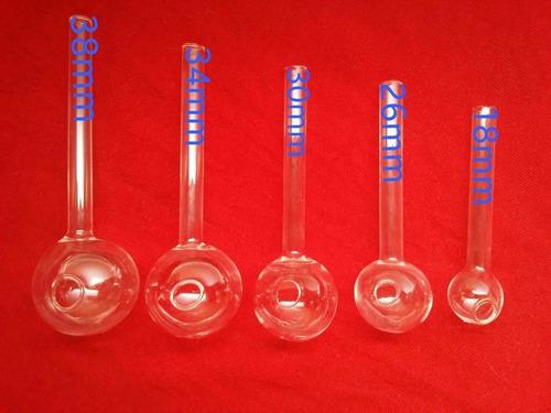 pipa de cristal, vidrio pyrex artesanales