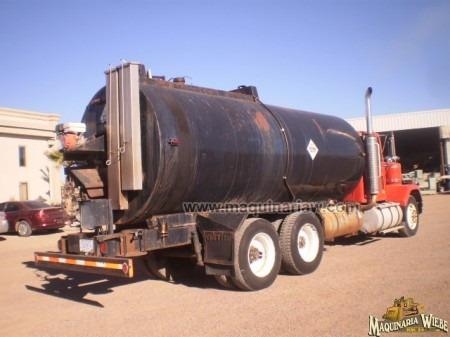 pipa para emulsión asfáltica camion  gmc asfalto