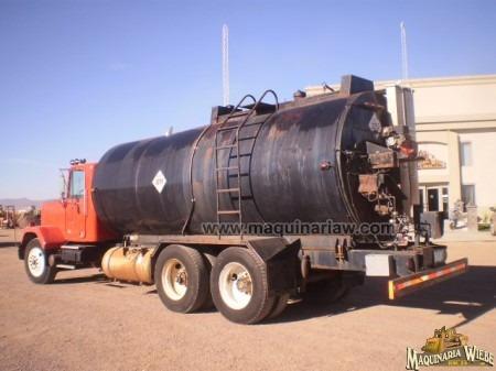 pipa para emulsión asfáltica camion  gmc asfalto folio 3807