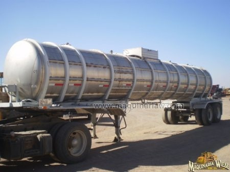 pipa remolque de acero inoxidable 5000 galones folio 4690