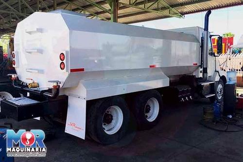 pipa tanque de agua 18000 lts, camion volvo 2008, cisterna