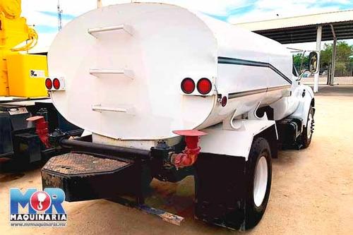 pipa tanque de agua 2000gls, camion ford 2000, cisterna