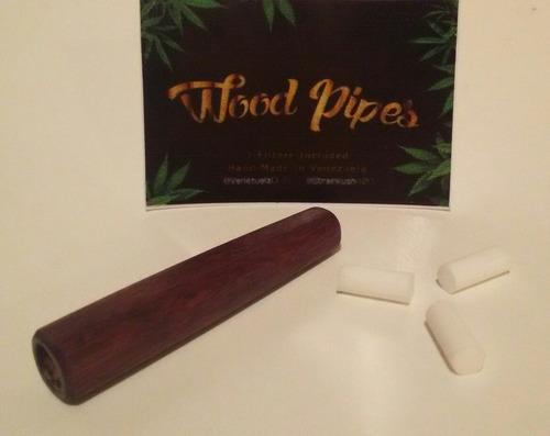 pipas artesanales de madera